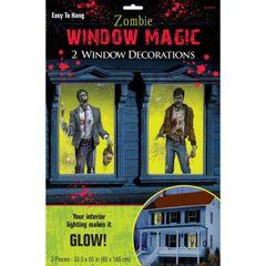 Zombie Window Magic Decorations - Plastic