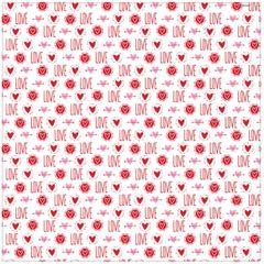 Valentine's LOVE Tissue Paper