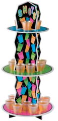 Neon Shot Glass Stand