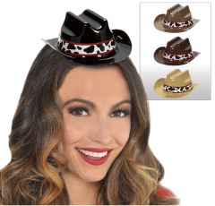 Western Mini Cowboy Hats, 8ct