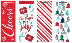 Jolly Season Bottle Bags, 4ct