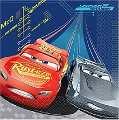 ©DISNEY CARS 3 Luncheon Napkins