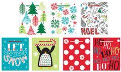 Christmas Gift Bags, 7ct