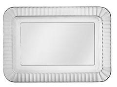 Clear Premium Plastic Appetizer Trays, 32ct