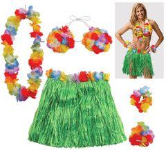 Adult Large Hula Skirt Kit, 5pc