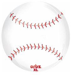 """Baseball Orbz Balloon 16"""""""