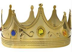 Adult Jeweled Royal King Crown