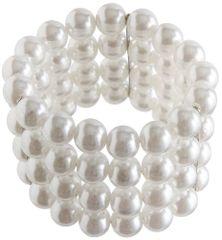20s Multi Strand Faux Pearl Bracelet