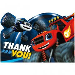 Blaze and the Monster Machines™ Postcard Thank You Cards, 8ct