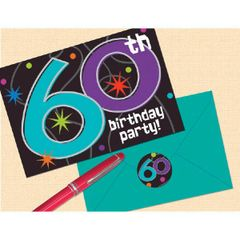 The Party Continues - 60 Invitations