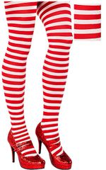 Candy Stripe Tights - Adult Standard