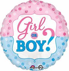 Gender Reveal 18in
