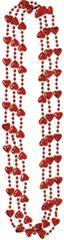 Mini Heart Bead Necklaces, 3ct