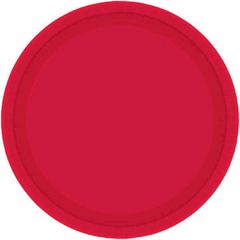 """Apple Red Paper Plates, 7"""" 20ct"""