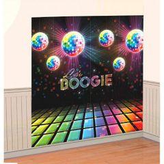 Disco 70's Scene Setters Wall Decorating Kit