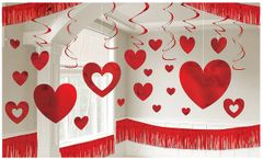 Valentine's Day Foil Giant Room Decorating Kit