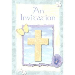 Inspirations Folded Invitation, 8ct