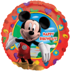 Mickey Clubhouse Birthday 18in