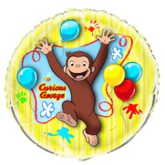 Curious George Super Shape Balloon 34""