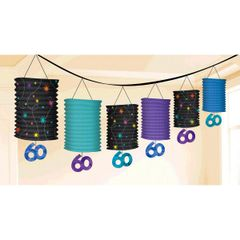 The Party Continues - 60 Lantern Garland