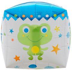 "Cubez Sweet Baby Boy Foil Balloon 15"""