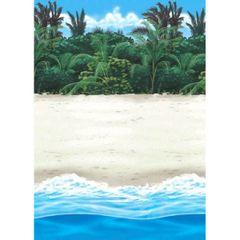 Beach Scene Setter Room Roll