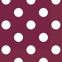 Berry Dots Beverage Napkins