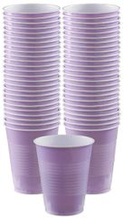Big Party Pack Lavender Plastic Cups, 16 oz - 50ct