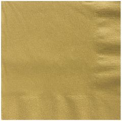 Big Party Pack Gold Luncheon Napkins, 125ct