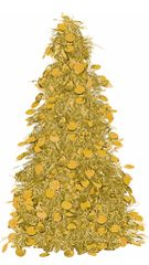Small Tree Centerpiece - Gold