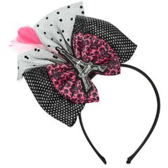 A Day in Paris Bow Headband