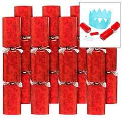 Holiday Red Party Crackers