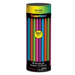 "8"" Glow Stick Super Mega Value Pack - Multi Color"