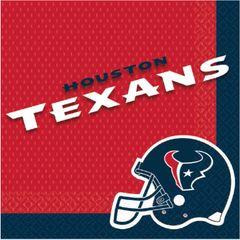 Houston Texans Luncheon Napkins, 16ct