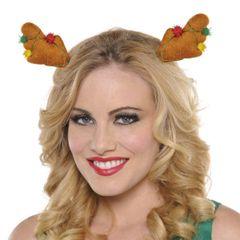Reindeer Antlers Hair Clips