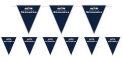 Seattle Seahawks Pennant Banner, 12ft