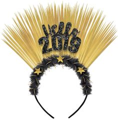 """2019"" Glitzy Hello Headband"