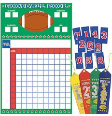 Football Pool w/Ribbons