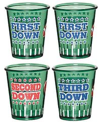 Football Shot Glass Set