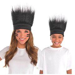 Black Crazy Hair Headband