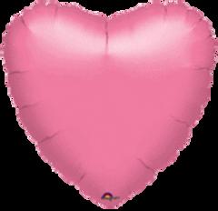 Heart 30 Metallic Lavender Mylar Balloon 18in