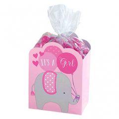 Baby Shower Favor Box Kit - Pink