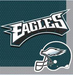 Philadelphia Eagles Luncheon Napkins, 16ct