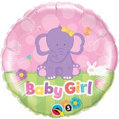 Baby Girl Elephant 18in