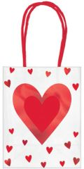 Valentine's Day Small Multi-Pack Gift Bags, 6ct