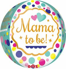 Mama or Mom To Be! ORBZ Balloon 16""