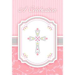 Blessings Pink Postcard Value Pack Invitations, 20ct