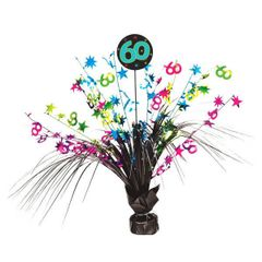 The Party Continues - 60 Spray Centerpiece