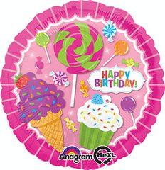 Sweet Shop Birthday 18in
