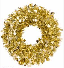 Gold Jumbo Wreath
